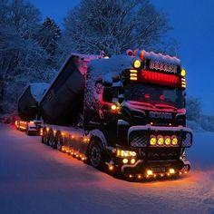 audi vehicles Scania im Schnee - - - Big Rig Trucks, Used Trucks, Cool Trucks, Allroad Audi, White Truck, Audi Cars, Diesel Trucks, Panzer, Custom Trucks