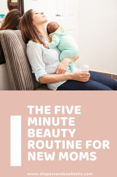 Being a new Mom can be exhausting, but this quick and easy 5-minute beauty routine will give you just the pick up you need. #BeautyRoutineChecklist Beauty Routine Order, 5 Minute Beauty Routine, Beauty Routine Planner, Beauty Routine Checklist, Pick Up, Zombie Eyes, Too Faced Natural Eyes, Baby Lips, Easy 5