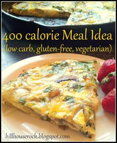 400 calorie(or 200 if you only have one piece) meal idea. Great for breakfast, brunch, lunch, or dinner! #dinner #brunch