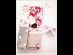 Cómo hacer un monedero de tela: cosura fácil | Manualidades