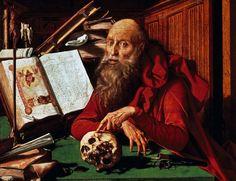 NA LÍNGUA DO POVO 'São Jerônimo em seus estudos' (1541), do pintor holandês Marinus van Reymerswaele. São Jerônimo concebeu a 'Vulgata', a tradução da 'Bíblia' em latim vulgar (Foto: DeAgostini/Getty Images)