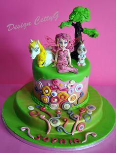 Le torte decorate di CettyG...: Mia and me Cake...