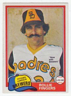 Rollie Fingers # 229 - 1981 O-Pee-Chee Baseball