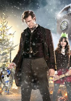 Doctor Who Christmas Special 2013 Poster - The Time of the Doctor