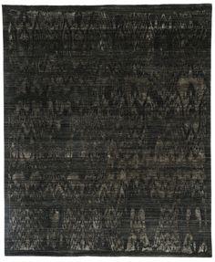 Luke Irwin | Black & Grey Ikat