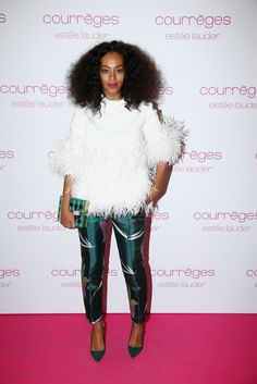 Solange Knowles // Paris Fashion Week