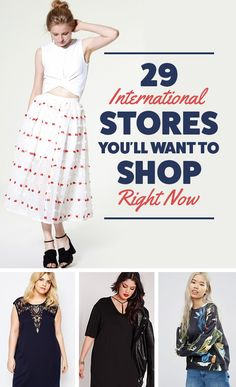 29 Stylish International Stores You'll Wish You Knew About Sooner