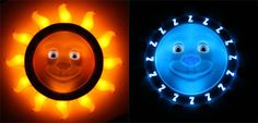 Good Night Lite, lets you toddlers know when it's time to sleep or time to wake.  Goodnitelite.com