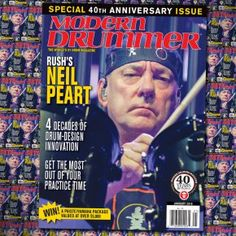 January 2016 Issue of <em>Modern Drummer</em> featuring Neil Peart