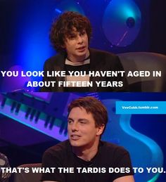 Simon Amstell & John Barrowman (Jack Harkness) - Nevermind the Buzzcocks