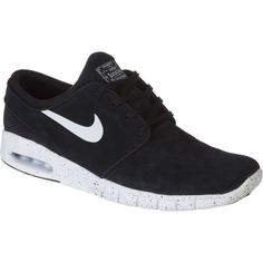 Nike - Stefan Janoski Max Suede Shoe - Men's - Black/White