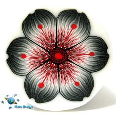 Black red flower cane | Flickr - Photo Sharing!