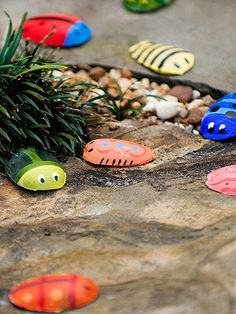 Spoon Bugs: This activity lets your backyard campers experience beetle-mania!