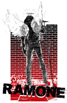 Joey Ramone / The Ramones Joey Ramone, Ramones, Punk Rock, Beatles, Heavy Metal Music, Rock Concert, Concert Posters, Gig Poster, Sketch Inspiration