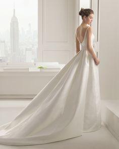 Selenio novia tejido otoman