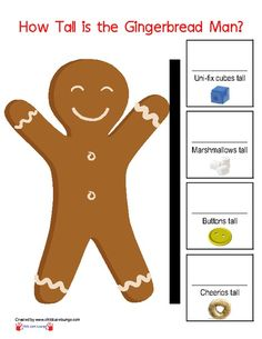 How Tall is the Gingerbread Man?
