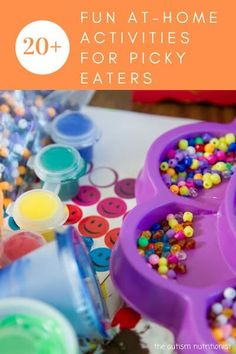 Fun and Easy Stay-at-Home Activities for Picky Eaters — Jenny Friedman Nutrition