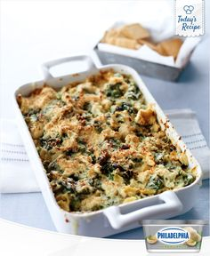 A great way to get your vegetables and deliciousness, it's our Baked Tripe Veggie Dip.