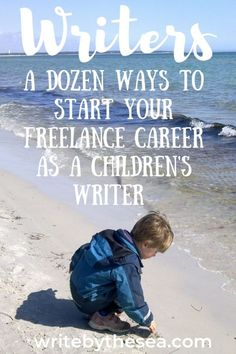 You can have a rewarding career in the various fields of writing for children. Here are a dozen ways to get started as a freelance children's writer. Writing Kids Books, Cool Writing, Book Writing Tips, Book Writer, Fiction Writing, Creative Writing, Writing Websites, Writing Romance, Writing Lessons