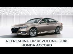 REFRESHING OR REVOLTING 2018 HONDA ACCORD   NEWS   KENH CUA BE