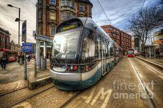 Nottingham Trams.