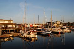 The harbor Zöbigker is a perfect place to finish the evening with a glass of wine and candlelight.