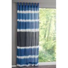 Voilage imprimé Tie & Dye, KULU La Redoute Interieurs - Rideaux, voilage, store