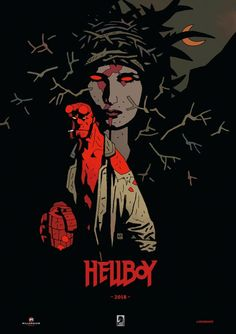 Hellboy: Rise of the Blood Queen SDCC 2017 special poster - Mike Mignola