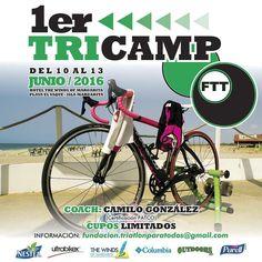 @Regrann from @fundacion.triatlonparatodos -  1er #TriCamp #FTT #Upcoming #ViveLaExperiencia #ElYaque #IslaMargarita #ArenitaPlayita #Triatlon #Beach #ParaisoTerrenal #TriatlonParaTodos #Paradise #Sensaciones #Triathlon #5150 #70point3 #Sprint #Olimpico #Integracion #HazNuevosAmigos #TriatletasVenezolanos Info: fundacion.triatlonparatodos@gmail.com #Regrann