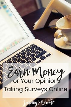 Earn money for your opinions by taking surveys online.