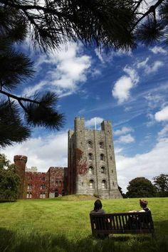 Penrhyn Castle, Wales, originally a medieval manor house, circa 1438