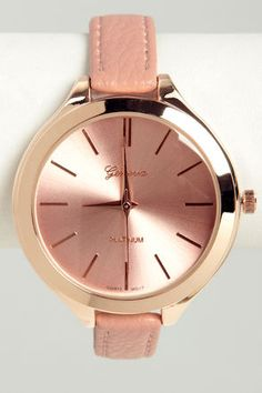 A Matter of Time Pink Watch