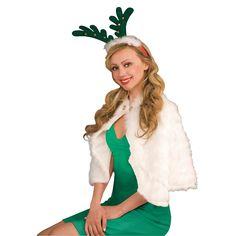 Antlers With Bells Headband in Novelty Christmas Apparel | NightmareFactory.com #reindeer
