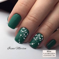 Discover the 10 most popular nail polish colors of all time! - My Nails Green Nail Designs, Colorful Nail Designs, Simple Nail Designs, Acrylic Nail Designs, Nail Art Designs, Orange Nails, Green Nails, Trendy Nails, Cute Nails