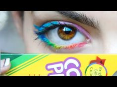 DIY: Make Eyeliner Out of Colored Pencils! - YouTube