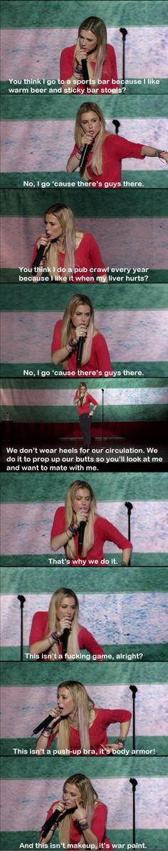 Iliza Shlesinger is my new favorite person.
