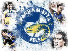 Parramatta Eels Fan Made Collage.
