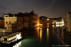 Canal Grande fotografato dal ponte dell'Accademia Venezia