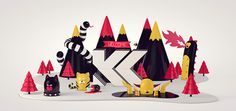 Welcome by Kristof Luyckx, via Behance