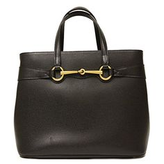 Gucci Horsebit Convertible Black Leather Top Handle Shoul...  http://amzn.to/29aoVgp