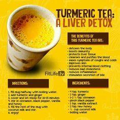 Love me some turmeric tea!
