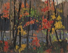 View Autumn tapestry by Tom Thomson on artnet. Browse upcoming and past auction lots by Tom Thomson. Canadian Painters, Canadian Artists, Watercolor Landscape, Landscape Paintings, Landscapes, Abstract Paintings, Oil Paintings, Group Of Seven Paintings, Tom Thomson Paintings