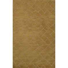 Dalyn Rug Co. Bella Gold Area Rug Rug Size: Round 8'