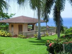 The Gazebo facing the ocean with 180 degree view. Perfect for happy hour and BBQ