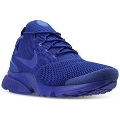 Nike Men's Presto Fly Running Sneakers from Finish Line ($100) ❤ liked on Polyvore featuring men's fashion, men's shoes, men's sneakers, nike mens sneakers, mens shoes, mens sneakers, mens mesh shoes and mens breathable shoes