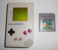 Nintendo GAME BOY Original Gray Handheld System TESTED Works Missing Parts Kirby #Nintendo