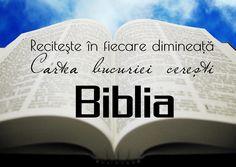 Recitește cartea bucuriei cerești - Biblia!