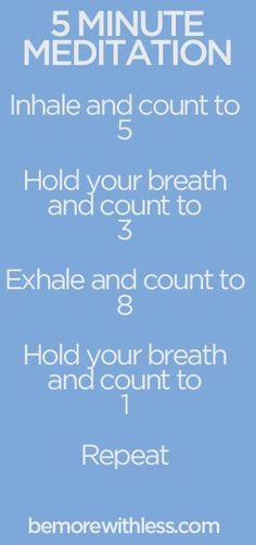 5 minute meditation that I can actually do