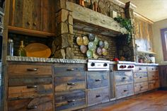 Reclaimed Oak Cabinetry