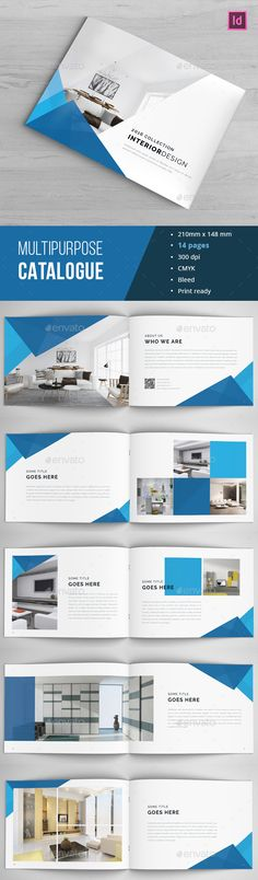 Modern A4 Corporate Business Brochure template Brochure Designs - free company profile template word